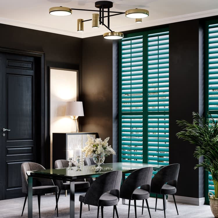 Coloured shutters